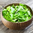 Fresh arugula salad — Stock Photo