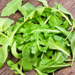 Fresh arugula salad  — Stockfoto