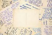 Old vintage letters  — Zdjęcie stockowe