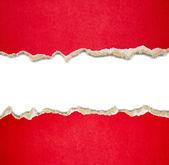 Bordi carta strappati — Foto Stock
