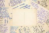 Velhas cartas vintage — Fotografia Stock