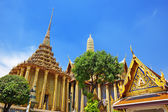 Wat Phra Kaew, Temple of the Emerald Buddha. The Grand Palace Ba — Stock fotografie