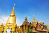 Wat Phra Kaew, Temple of the Emerald Buddha. The Grand Palace Ba — Stock Photo