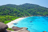 Top view of Similan island. Thailand — Stock Photo
