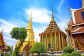 Wat Phra Kaew, Temple of the Emerald Buddha. The Grand Palace B — Foto de Stock