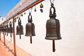 Buddhist bells in Wat Saket, Bangkok, Thailand. — Stock Photo