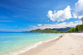View of Chaweng beach, Koh Samui, Thailand — Stock Photo