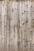 Texture of old wooden lining boards wall — Stock Photo