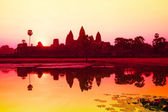 Angkor Wat sunrise at Siem Reap. Cambodia — Stock Photo