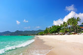View of Chaweng beach, Koh Samui  Thailand — Stock Photo