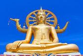 Wat phra yai, the big buddha temple at Koh Samui, Thailand — Stock Photo