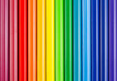 Colorful background with crayons — Stock Photo