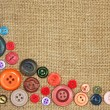Old colorful buttons — Stock Photo #7727181