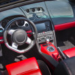 Sports car interior — Stock Photo #12161894