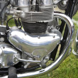 Stock Photo: Motorcycle engine