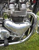 Motorcycle engine — Fotografia Stock
