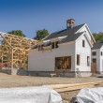 New House Construction — Stock Photo #13121641