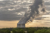 Nuclear power plant — Stockfoto
