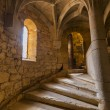 Stock Photo: Medieval spiral staircase