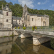 Medieval town of Brantome — Stock Photo