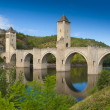Medieval Valantre bridge — Stock Photo