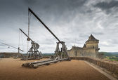 Catapults or trebuchets — Stock Photo
