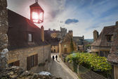 Medieval castle in the Dordogne, France — Stock Photo