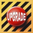 Upgrade button — Stock Photo