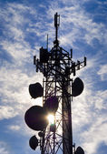 Cell tower — Stock Photo