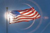 American or USA flag — Stock Photo