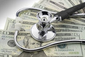 The cost of healthcare — Stock Photo
