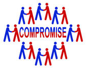 Compromise — Stock Photo