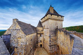 Castle of Castelnaud, France — Stock Photo