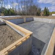 New multi family house foundation — ストック写真 #22573127