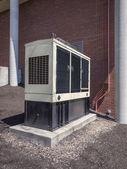 Backup diesel generator — Stock Photo