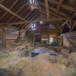 Barn interior — Stock Photo