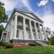 Southern Greek revival mansion — Stock Photo