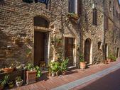 Street in Tuscany, Italy — Stock Photo