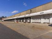 Truck loading docks — Stock Photo
