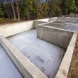 Concrete foundation for new houses — Stock Photo #38995791