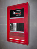 Fire alarm control box — Stock Photo