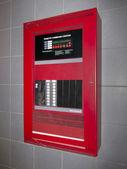 Fire alarm control box — Stock Photo