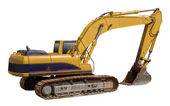 Excavator loader earthmover — Stock Photo