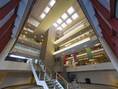 Modern office building lobby — Stock Photo