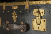 Antique trunk lock — Stock Photo