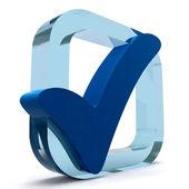 Coutil bleu montre de qualité et excellence — Photo