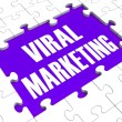 Stock Photo: Viral Marketing Showing Advertising Strategies