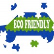 Stock Photo: Eco Friendly Car Means Environmentally CleAutomobile