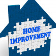 Home Improvement House Means Renovate Or Restore — Stock Photo