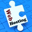 Web Hosting Shows Website Domain — Stock Photo #16638691